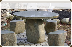 Stone Table Sets